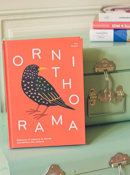 Guide d'oiseaux illustré suisse par Lisa Voisard
