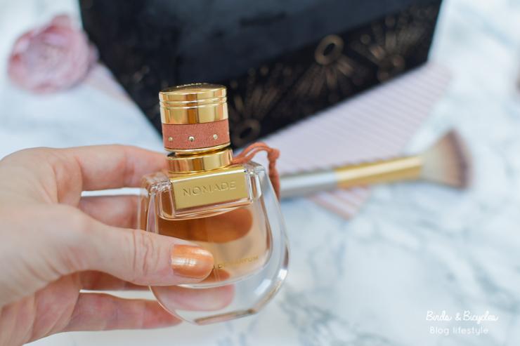 Sur le blog, coup de coeur pour un parfum féminin élégant
