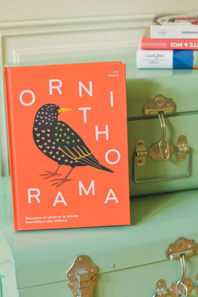 Ornithorama - guide d'oiseaux illustré suisse par Lisa Voisard
