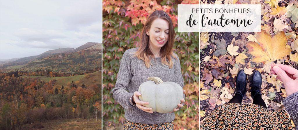 Petits bonheurs de l'automne sur le blog