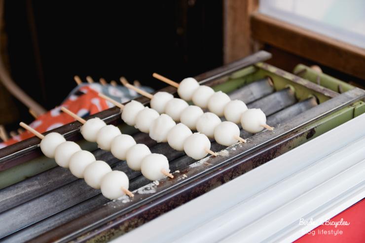 Dango, une spécialité japonaise à goûter dans la rue