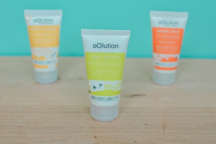 Test sur le blog beauté naturelle - Avis sur Oolution: les crèmes bio pour les mains, le corps et les pieds