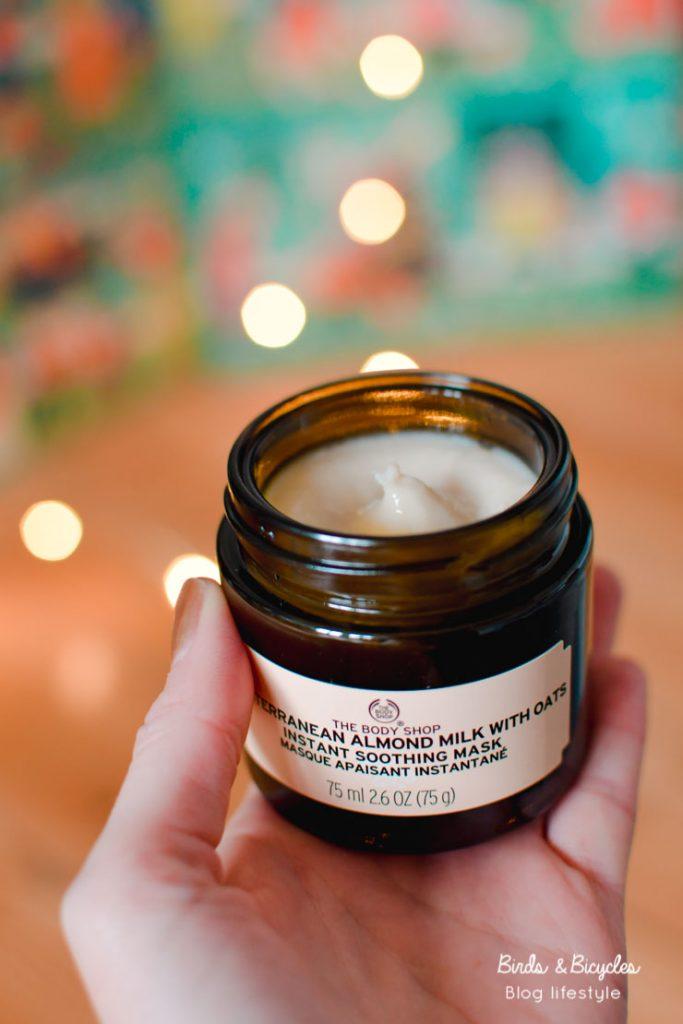 Test The Body Shop & avis: masque apaisant lait d'amande & avoine