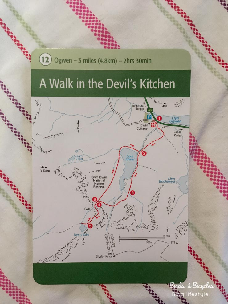 Fiche rando Snowdonia Devil's Kitchen