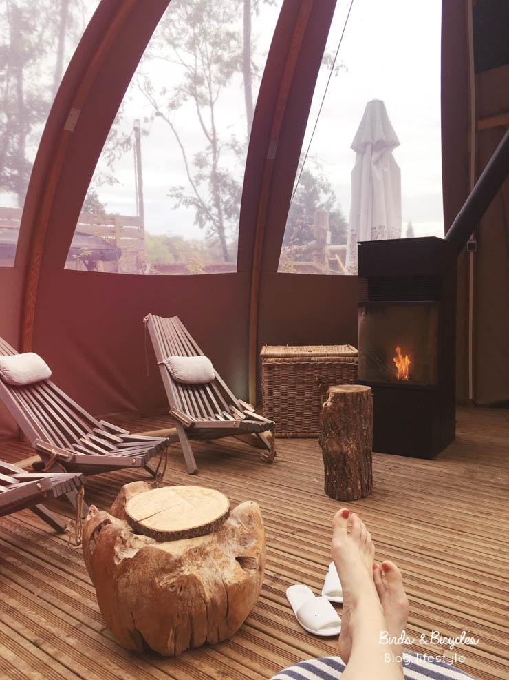 Bonne adresse autour de Mulhouse  - un spa dans les Vosges au milieu des bois
