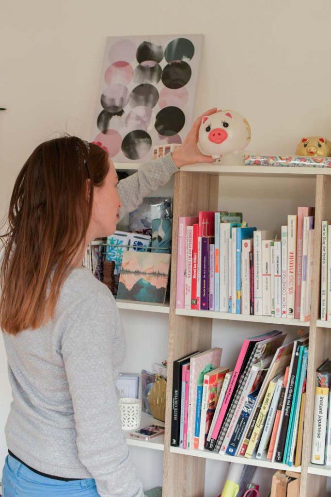 Mille livres inspirants et plein d'étagères