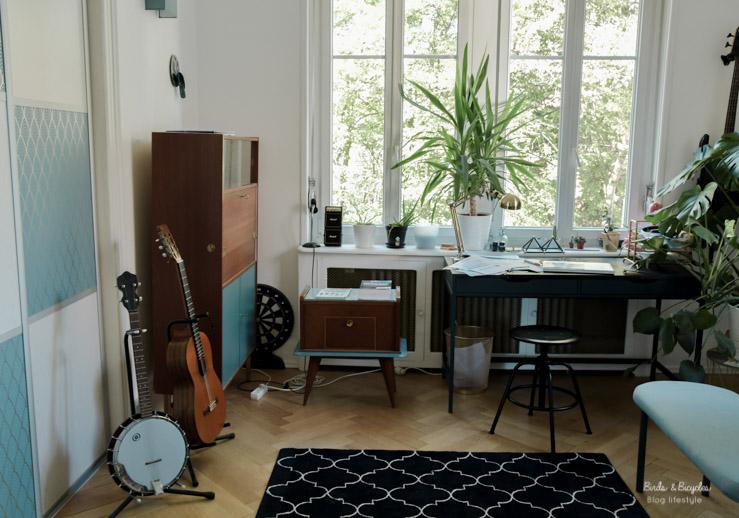 La salle de musique / bureau de mon amoureux
