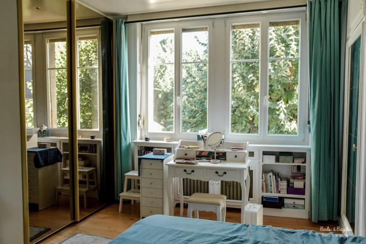 Ma chambre - avec vue sur les arbres - tour de mon home sweet home
