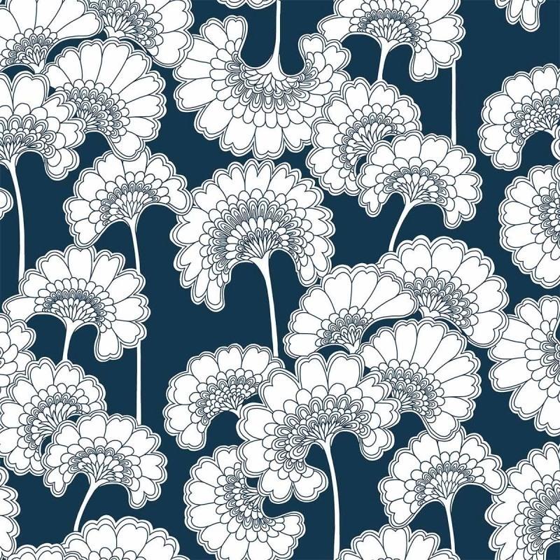 Floral & japonisant - Ma sélection de beaux papiers peints