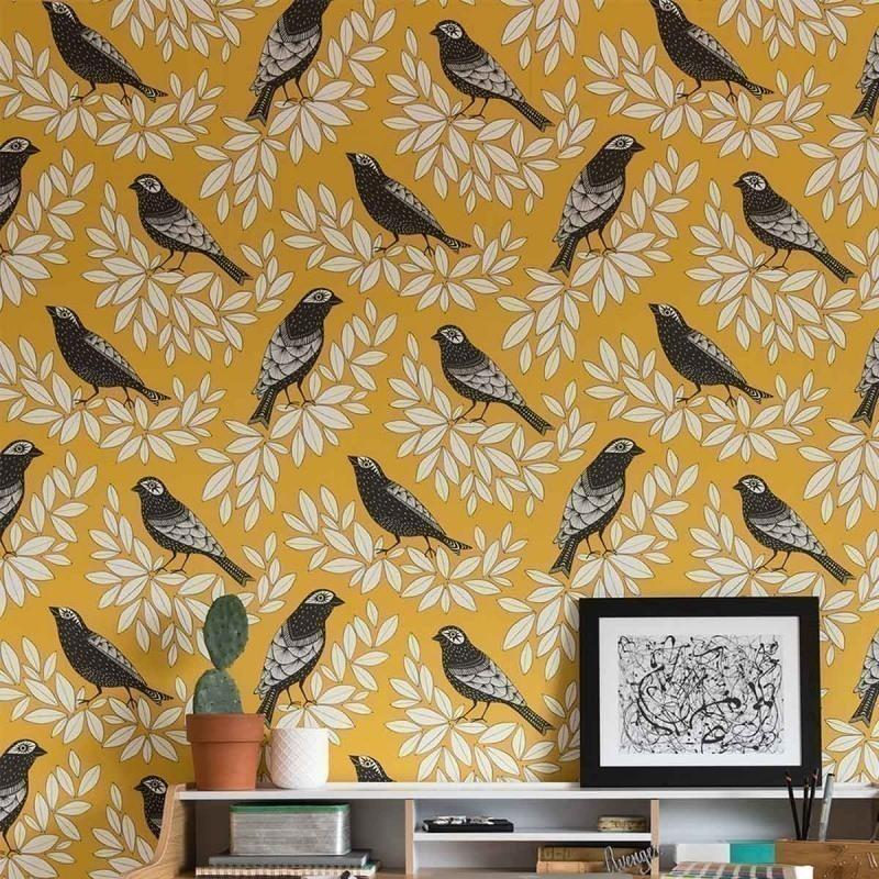 Inspirations papiers peints oiseaux