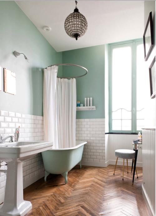 Rénovation maison: des inspirations couleurs pour la salle de bain