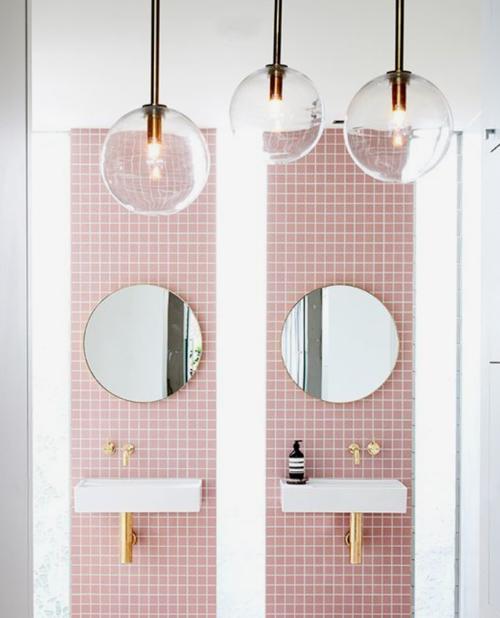 Inspiration salle de bain couleurs