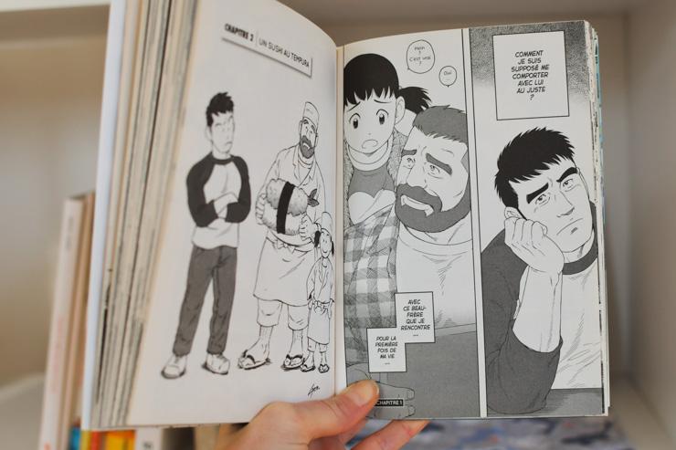 Sur le blog: un conseil de manga pour les adultes intéressés par la culture japonaise