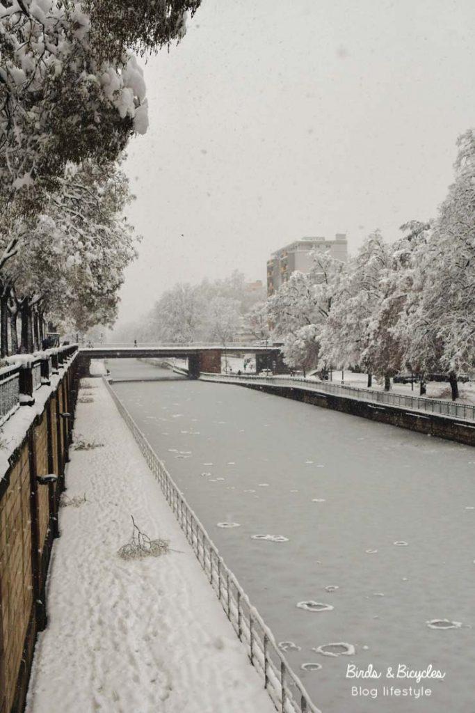 Galerie photo de Mulhouse sous la neige en 2021
