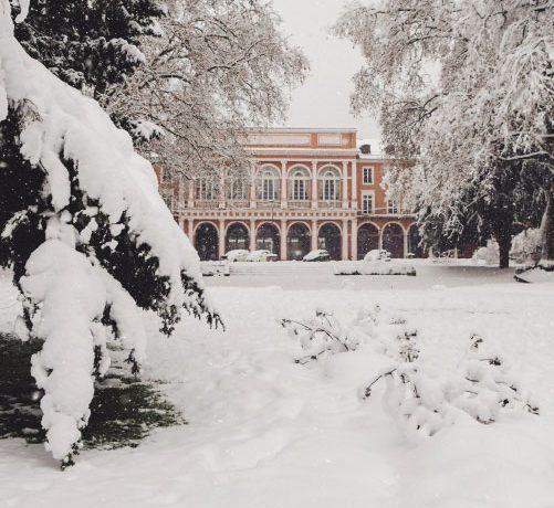 Mulhouse sous la neige en 2021