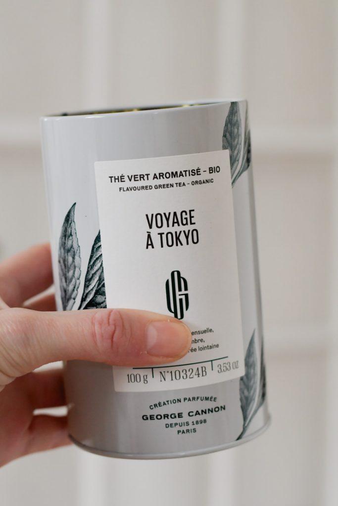George Cannon: Voyage à Tokyo, un thé vert au notes d'agrumes