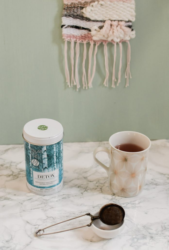 Tisane detox scandinave - Palais des Thlés - mon avis de petite buveuse de thé sur le blog