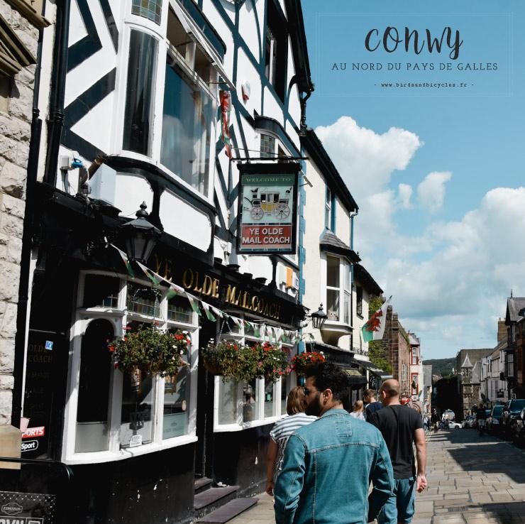 Road-trip au Pays de Galles - escale à Conwy - ville médiévale - Blog voyage en Grande-Bretagne