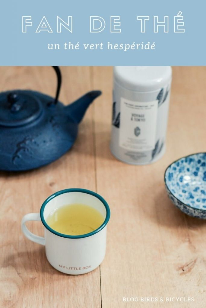 Un thé vert citronné de George Cannon