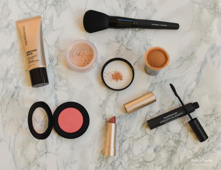 Avis maquillage : revue de Bare Minerals sur le blog - make-up clean en test
