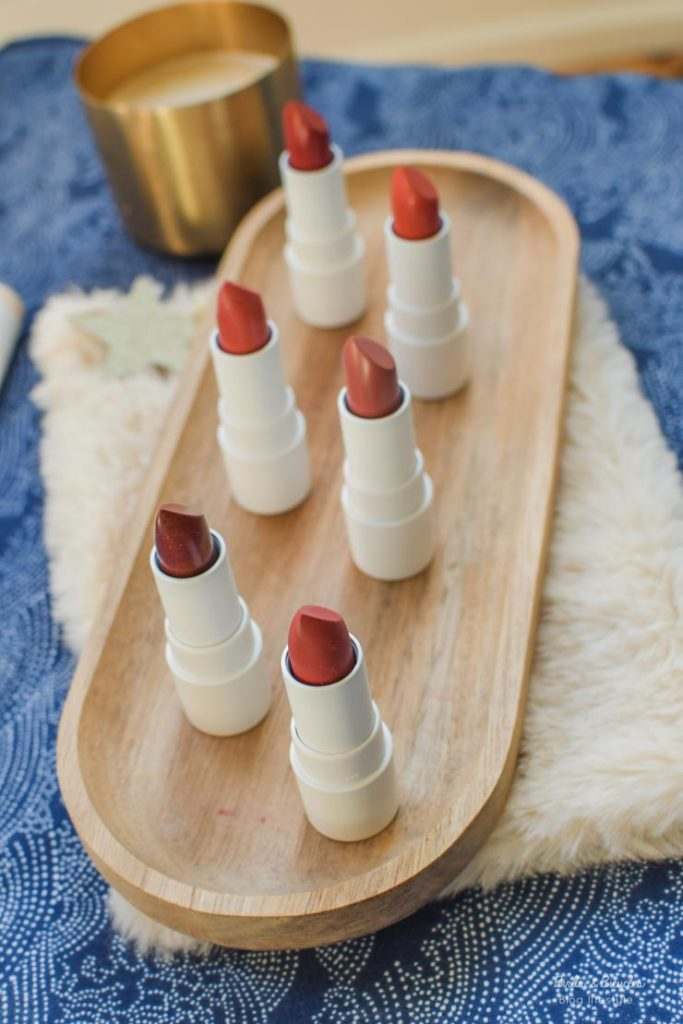 En test: les lipsticks aux jolies teintes de Couleur Caramel