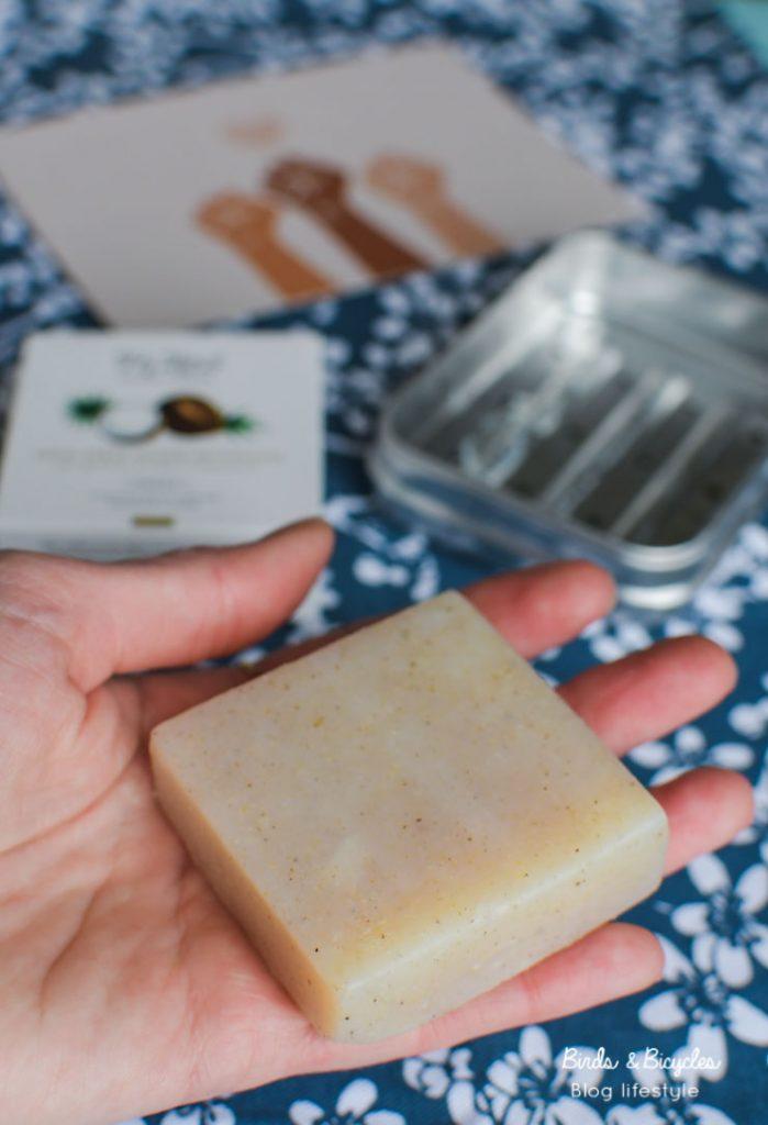 Solide et zéro déchet: un savon pour le visage extra