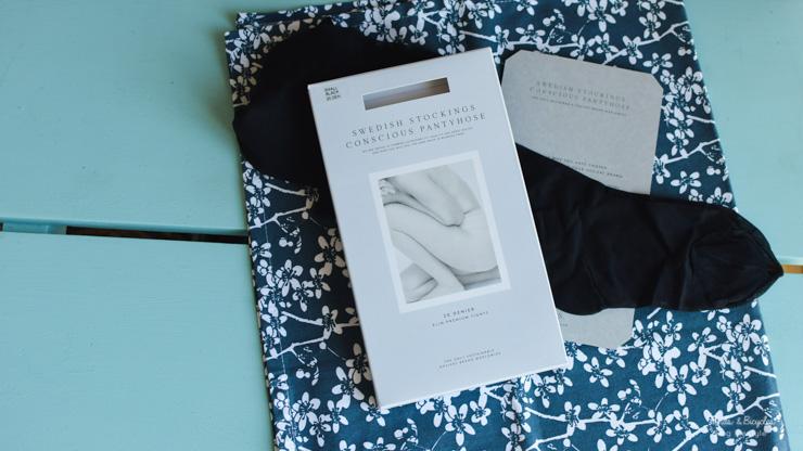 Des collants en fibres recyclées de Swedish Stockings chez Fairy Tale