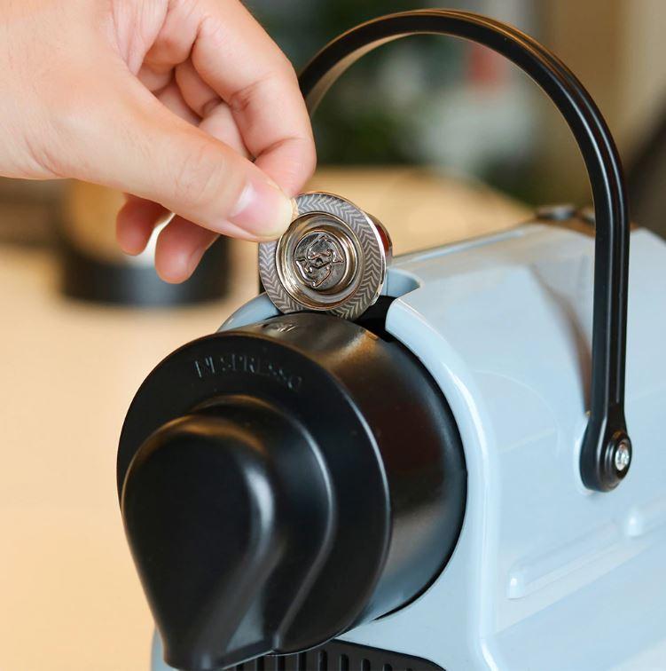 Bonne idée green: miser sur des capsules de café à remplir soi même et à réutiliser