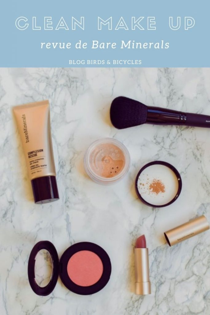 Revue de maquillage clean sur le blog!