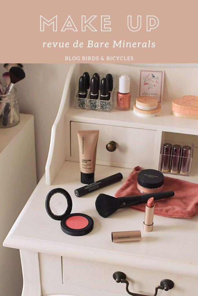 Revue de maquillage de Bare Minerals sur le blog!