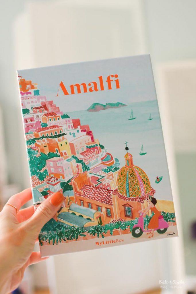 My Little box d'avril: Amalfi - contenu