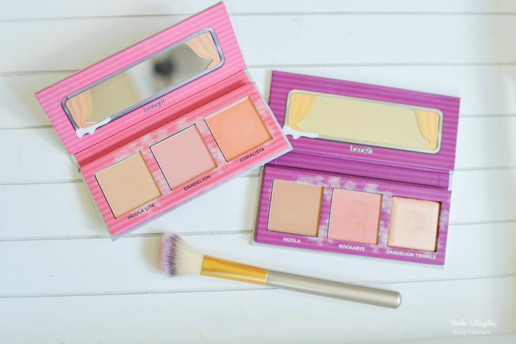 Les blushs caravanes de Benefit - packagings de maquillage girly et trop cute