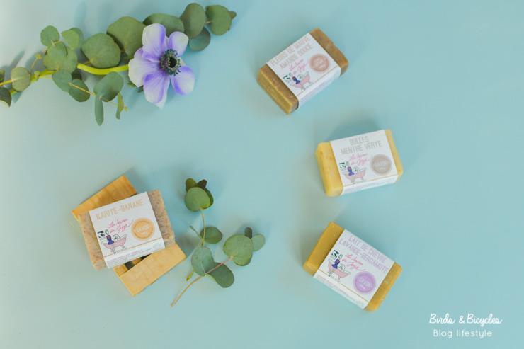 On teste sous la douche les savons bio (Nature & Progrès) de la marque française Les Savons de Joya