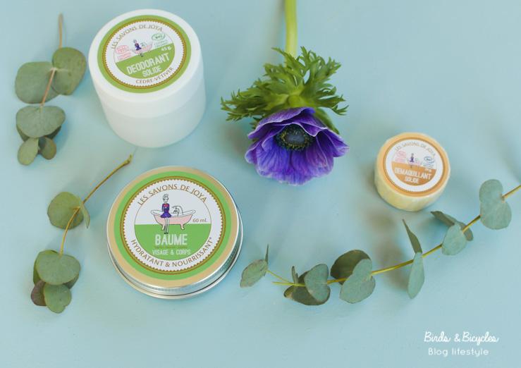 On teste des soins naturels de la marque Les Savons de Joya sur le blog!