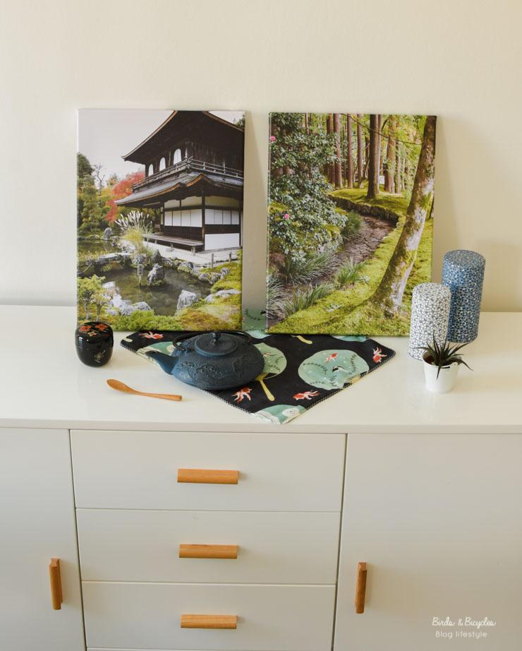 Un diptyque autour d'un temple à Kyoto