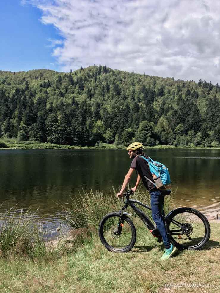 A vélo dans les Vosges côté Hohneck