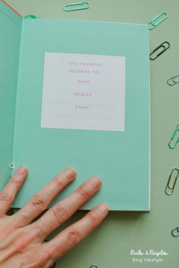 Un carnet plein de to-do lists pour être toujours bien organisée