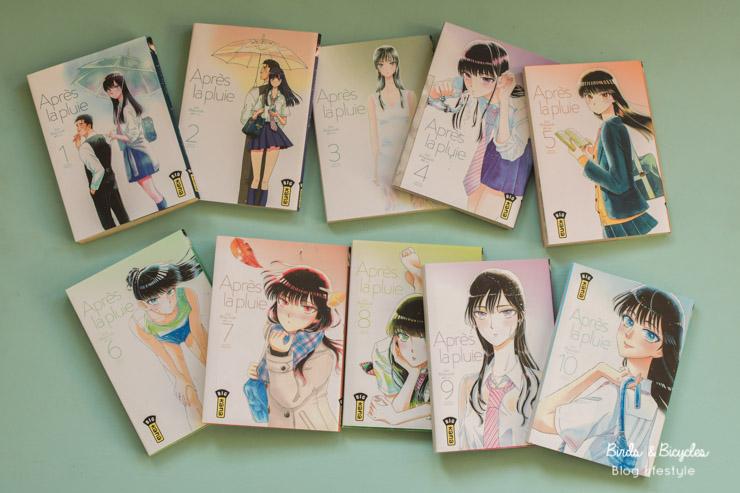 Après la pluie, une série de manga en 10 tomes
