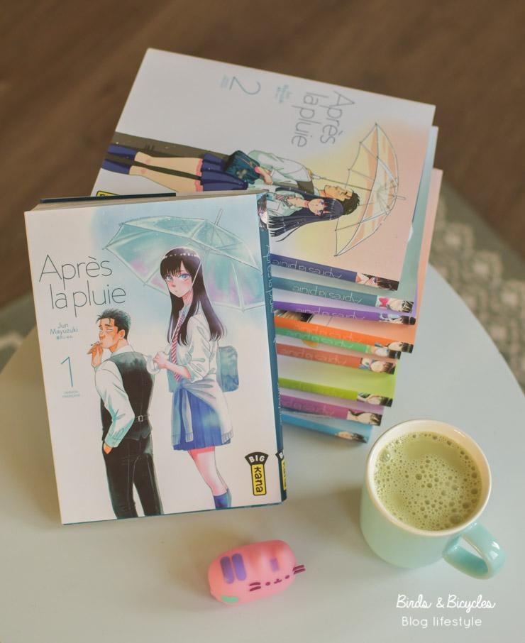 Après la pluie, un manga que je recommande sur le blog!