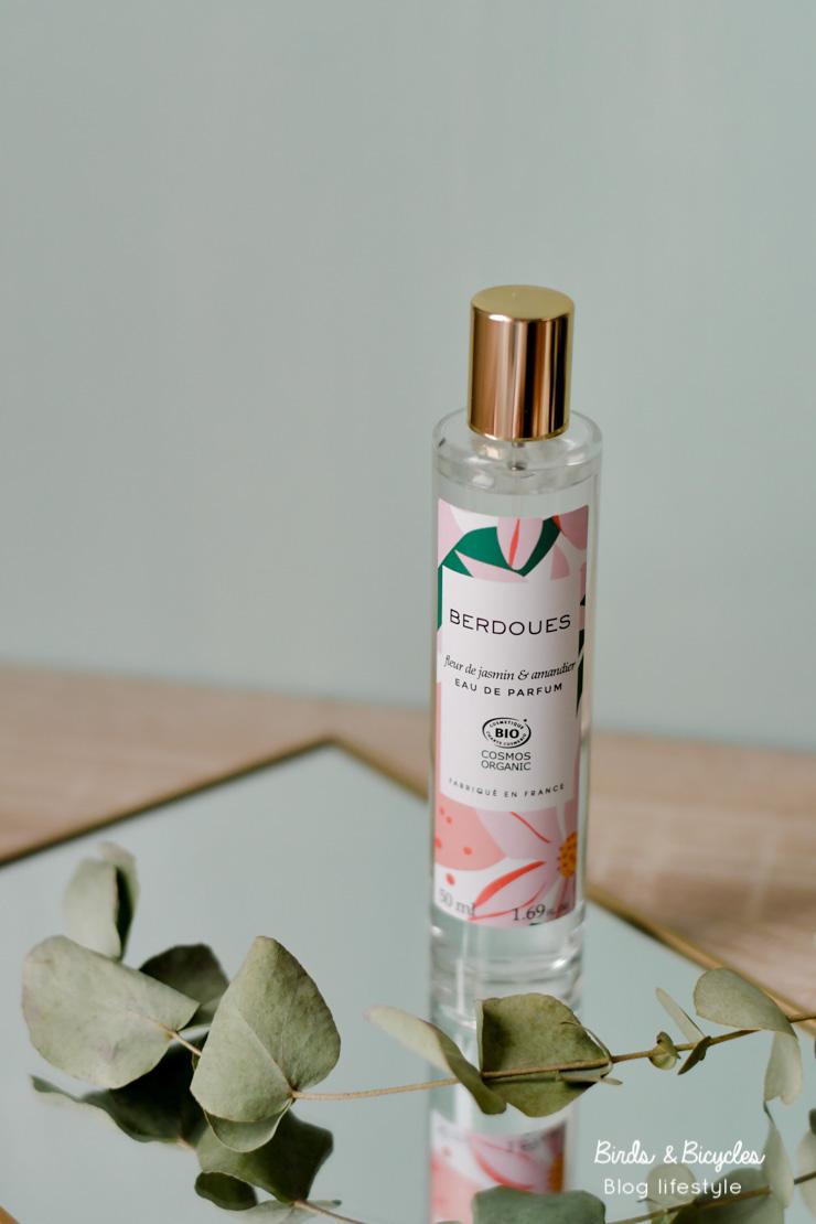 Mon avis sur l'eau de parfum bio de Berdouès, Fleur de Jasmin & Amandier