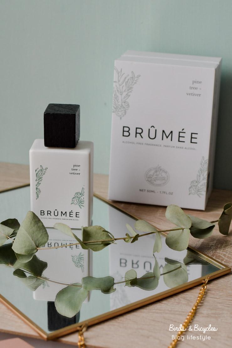 Mon avis sur le parfum naturel Brûmée Pin & Vétiver sur le blog