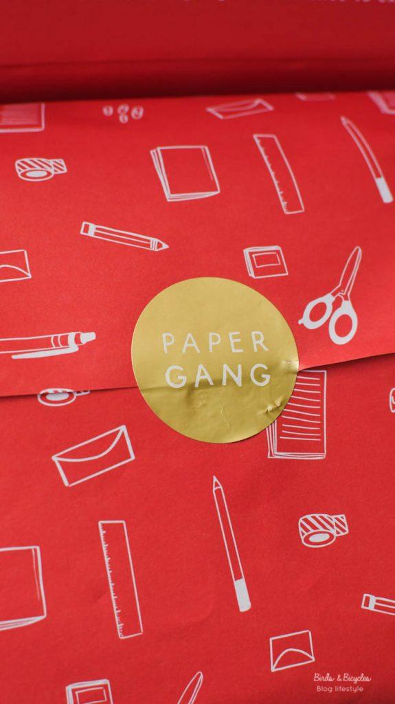 La box Papergang de juin en détails