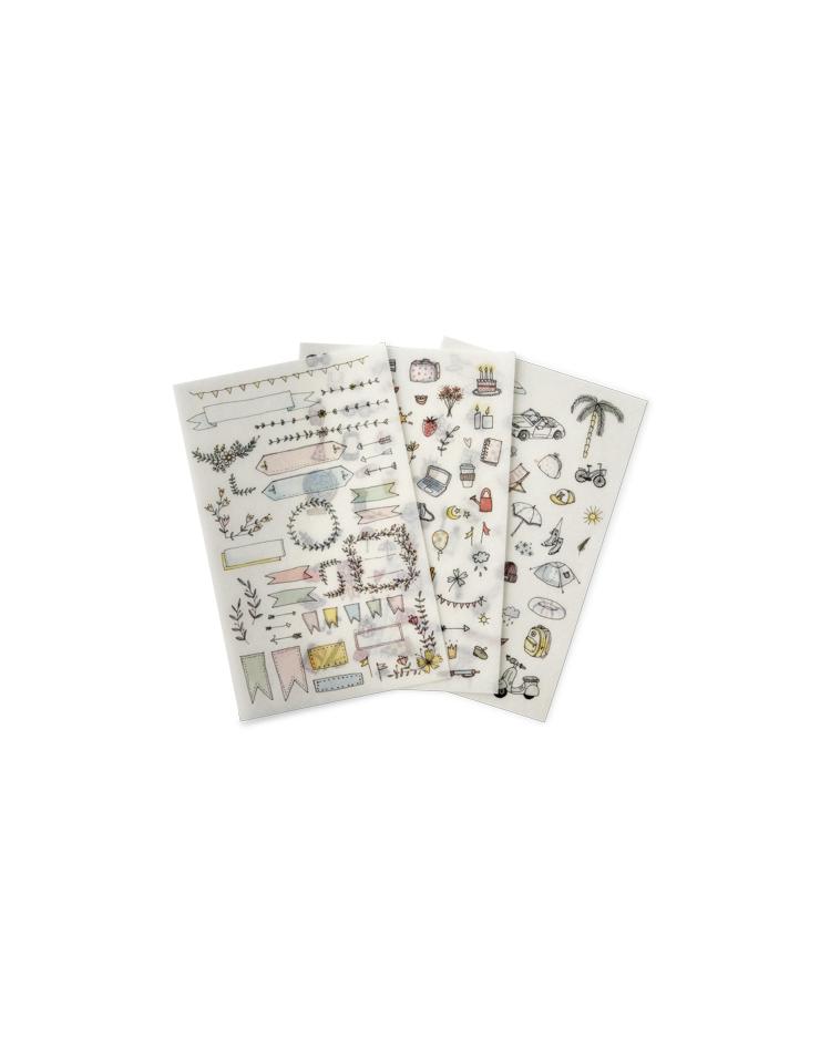 Stickers et chablons chez Sostrene Grene