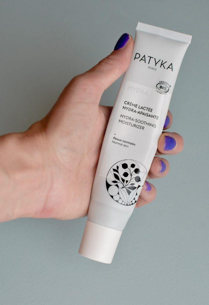 Avis blog beauté - Crème lactée hydra-apaisante de Patyka