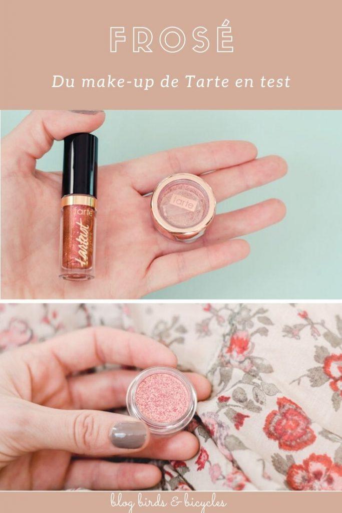 Mon avis sur le kit Frosé de Tarte - découverte maquillage sur le blog