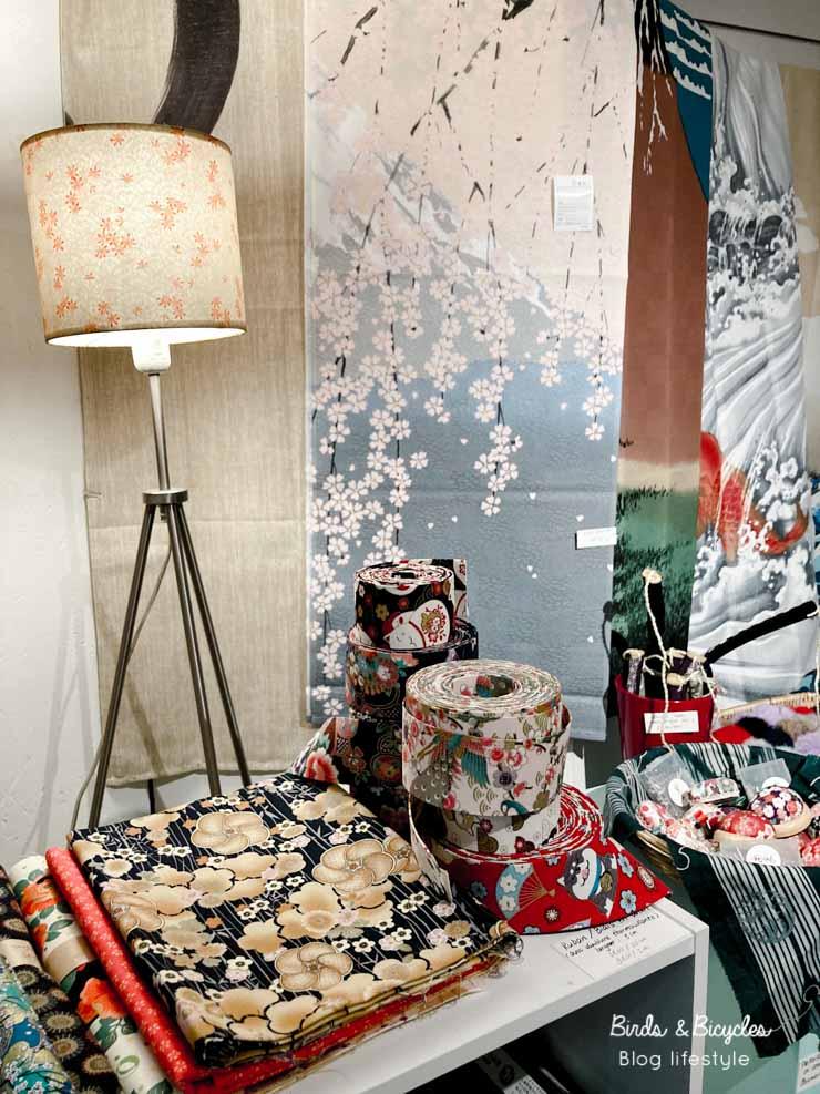 Plein de tissus japonais - bonne adresse à Lyon