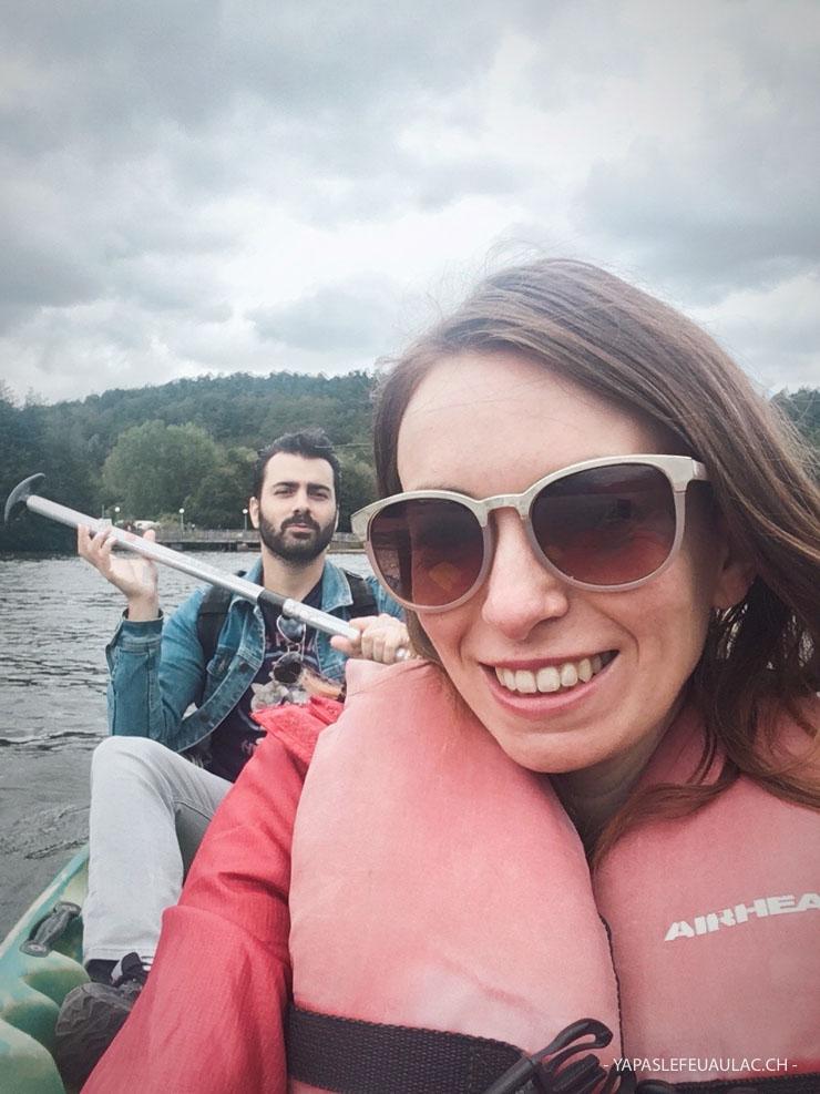 Aventures sur le lac chambon: visiter l'Auverggne