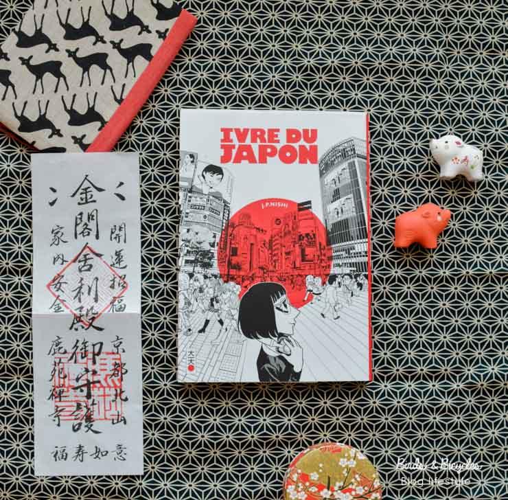 Manga Ivre du Japon de JP Nishi (Ed. Kana) - avis sur le blog amoureux du Japon Birds & Bicycles