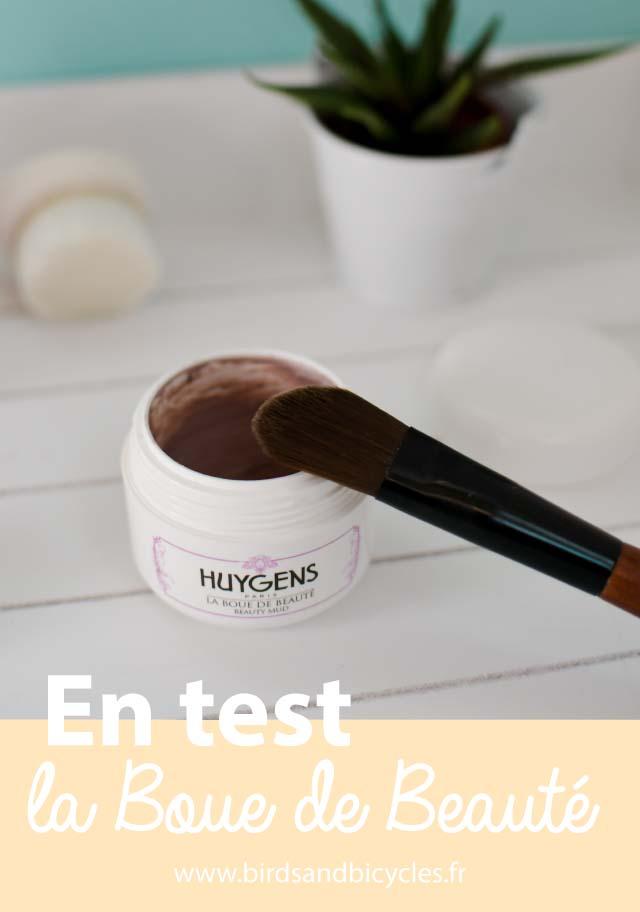 Mon avis sur la boue de beauté Huygens. Un masque un peu chic à s'offrir pour une occasion spéciale!