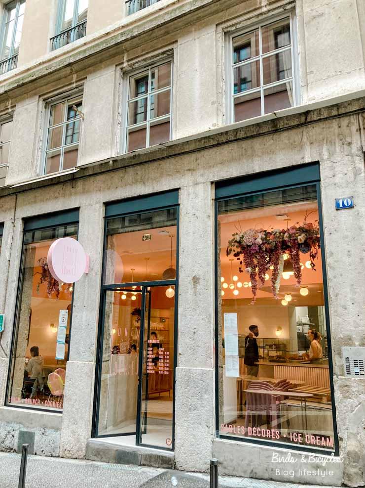 Le salon de thé Coney Cookies à Lyon (Croix-Rousse)